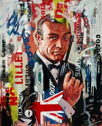 Bond by Zinsky -  sized 32x40 inches. Available from Whitewall Galleries